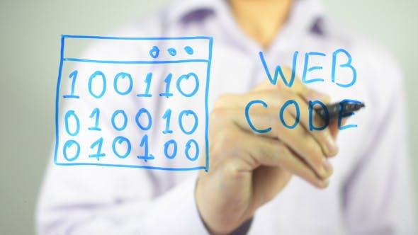 Thumbnail for Web Code, Illustration