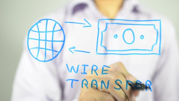 Cover Image for Wire Transfer Concept