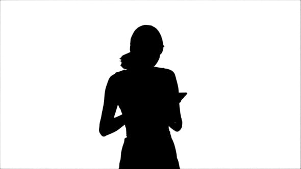 Thumbnail for Silhouette Portrait Of a Professional Business