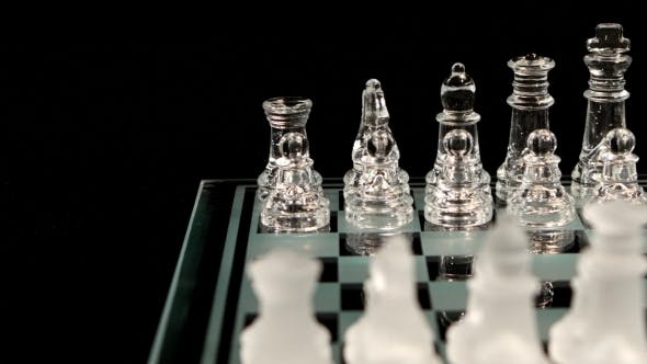 Thumbnail for Chessboard With Unusual Figures