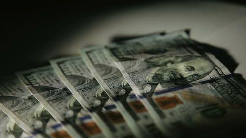 100 Dollars Shot Of Franklin