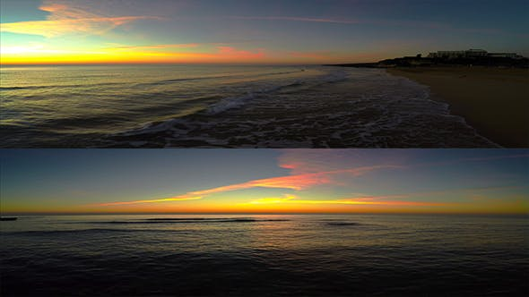 Thumbnail for Morning Day at Mediterranean Sea (3 clips)