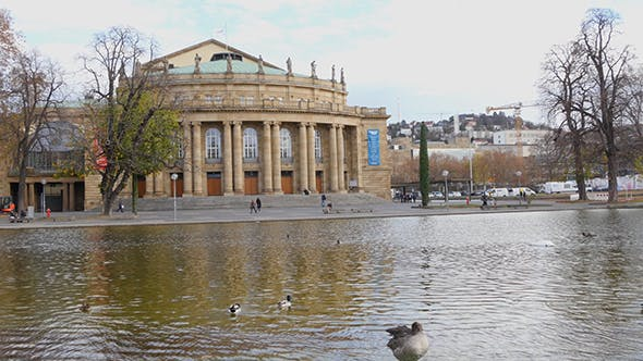 Thumbnail for Opera Building In Stuttgart