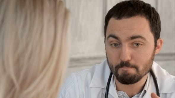 Thumbnail for Doctor Telling Bad News To His Patient