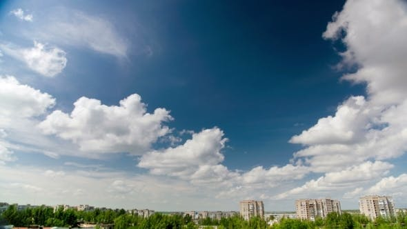 Cover Image for Blue Sky With White Clouds