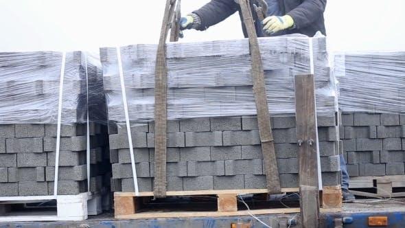 Thumbnail for Unloading Of Paving Slabs