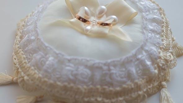 Thumbnail for Wedding Rings On Pillow