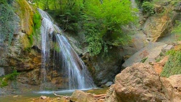 Amazing Waterfall Dzhur Dzhur