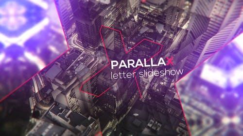 Letters - Parallax Slideshow