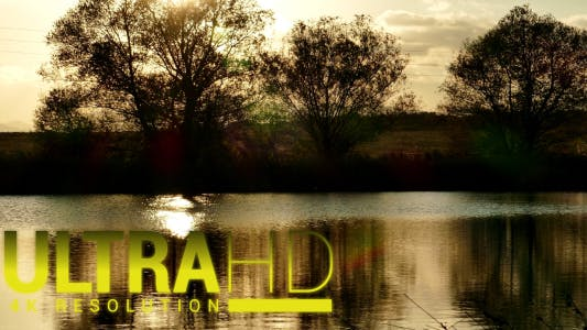 Thumbnail for Beautiful Lake at Sunset 1