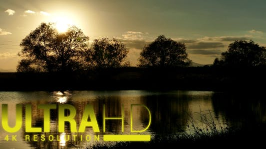 Thumbnail for Beautiful Lake at Sunset 2