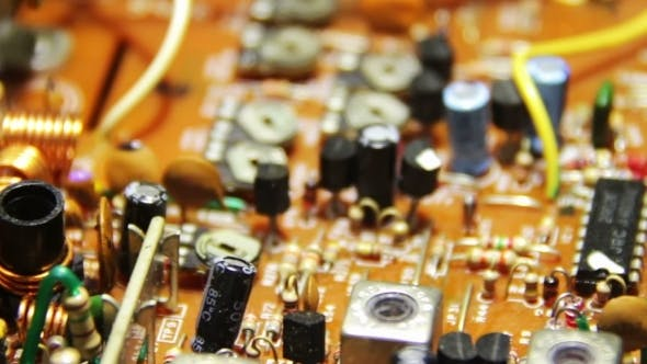 Thumbnail for Circuit Boards With Electronic Components 2