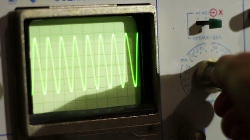 Signaloszilloskop einstellen