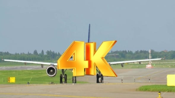 Thumbnail for Jet Airplane On The Runway