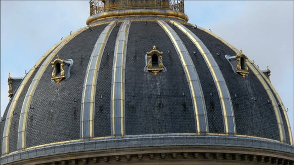 Thumbnail for A Dome Roof in the City of Paris France
