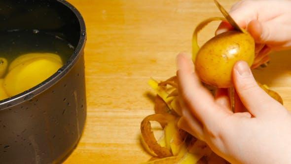 Peeling Potatoes