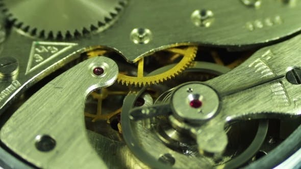 Thumbnail for Clock Mechanism Works