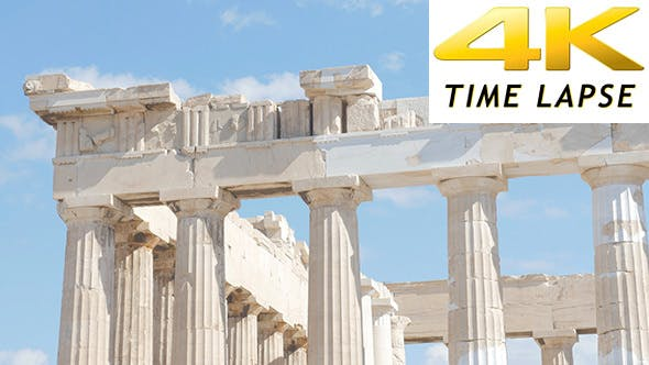 Thumbnail for Travel View of Acropolis in Athens, Greece 4