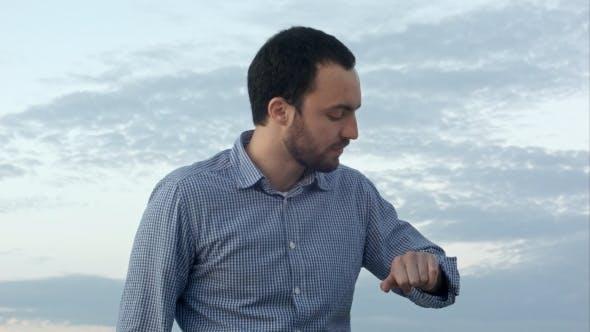 Thumbnail for Depression Man At Sunset