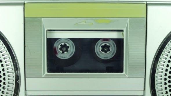 Vintage Kassettenspieler