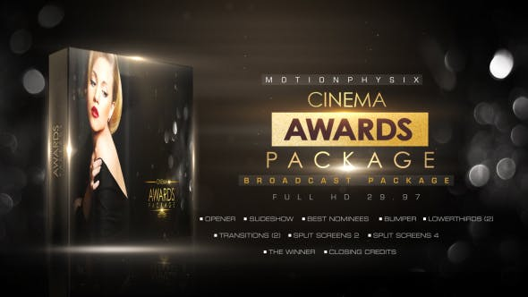 Cover Image for Cinema Awards Package