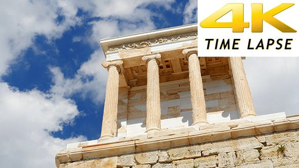 Thumbnail for Travel View of Acropolis in Athens, Greece 10