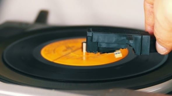 Thumbnail for Old Vinyl Record Playing