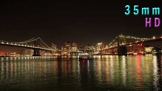 Thumbnail for Brooklyn and Manhattan Bridge New York City