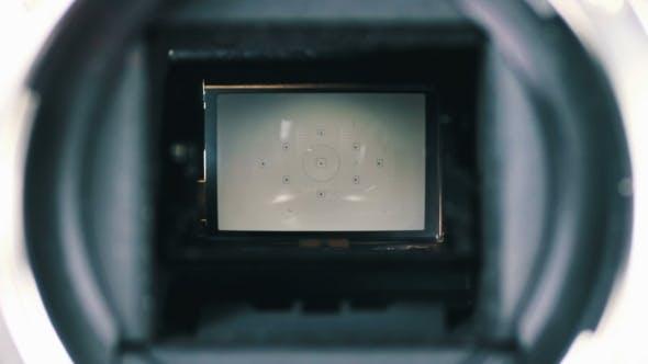 DSLR Camera Mirror And Shutter Mechanism 4