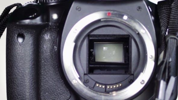 DSLR Camera Mirror Shutter Mechanism 5