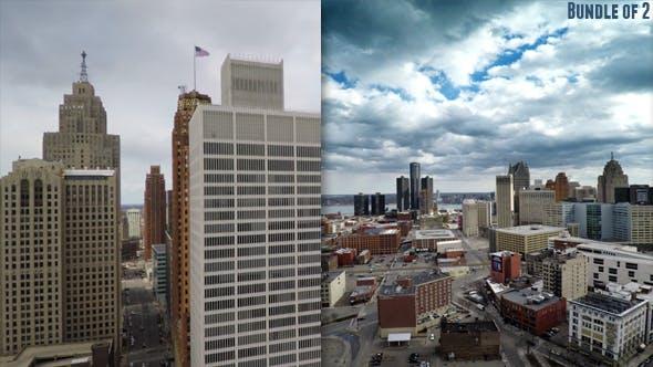Thumbnail for Above Detroit