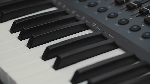 Thumbnail for Musical Instrument. Equipment. Keyboards, Piano Synthesizer
