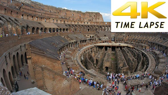 Thumbnail for View of Colosseum at Day Time, Rome, Italy