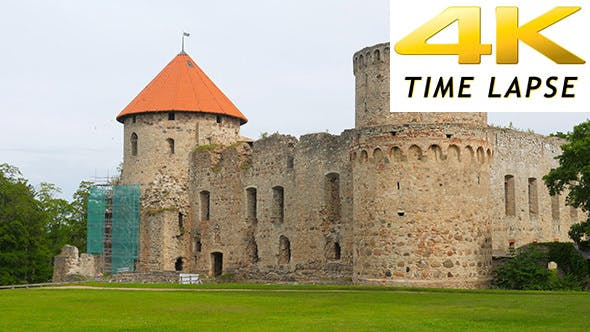 Thumbnail for View of Cesis Castle, Northern Latvia