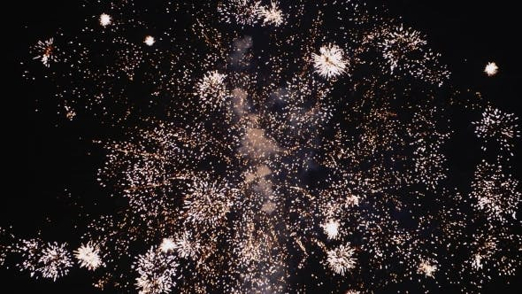 Thumbnail for Fireworks In The Night Sky