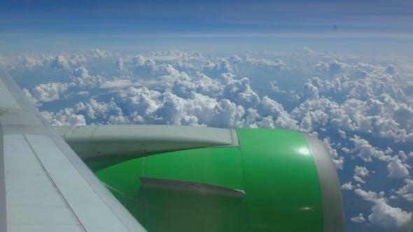 Thumbnail for Aerial Cumulus Cloudscape