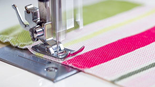 Cover Image for Sewing Machine Showing Process