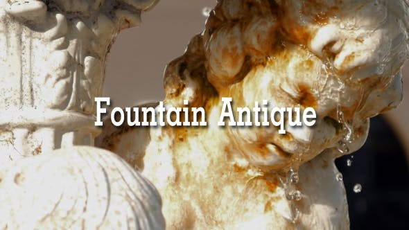 Thumbnail for Fountain Antique