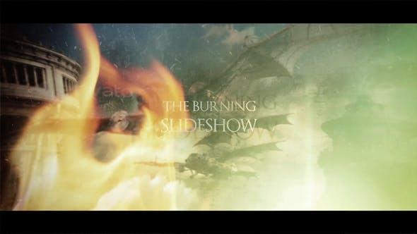 Thumbnail for The Burning Slideshow Opener