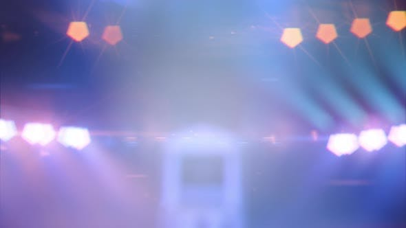 Thumbnail for Blurred Background with the Stage Lights and Spotlights on the Concert Scene