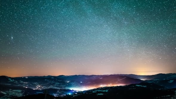 Thumbnail for Milky Way In Carpathian Mountains