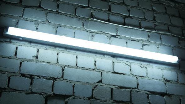 Thumbnail for Blue Lamp in Basement