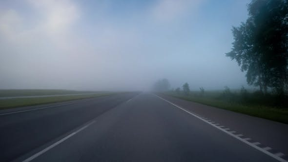 Thumbnail for Fog On The Road