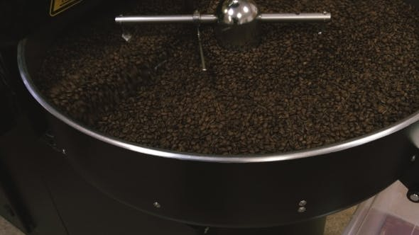 Thumbnail for Coffee Beans After Roasting Mixing