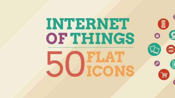 Cover Image for Internet Of Things and Smart Home Icon Set