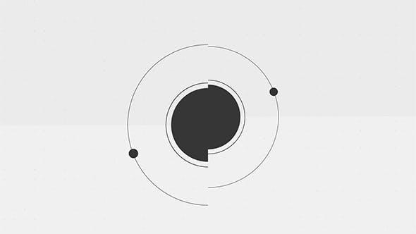 Logo shape black&white