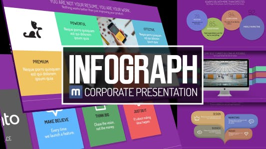 Thumbnail for Infograph - Corporate Presentation
