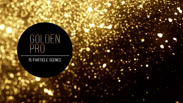 Thumbnail for Golden Pro - 15 Particle Setups