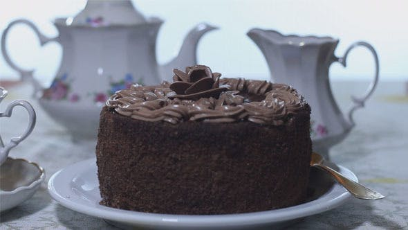 Thumbnail for Chocolate Cake with Tea