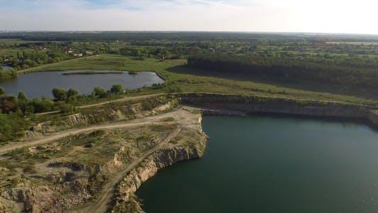 Thumbnail for Flying Over Quarry Lake